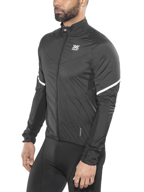 X-Bionic Spherewind Pro Biking Jacket Men Black/White